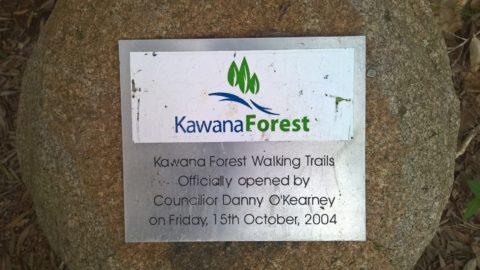 Kawana Forest Walking Trails plaque