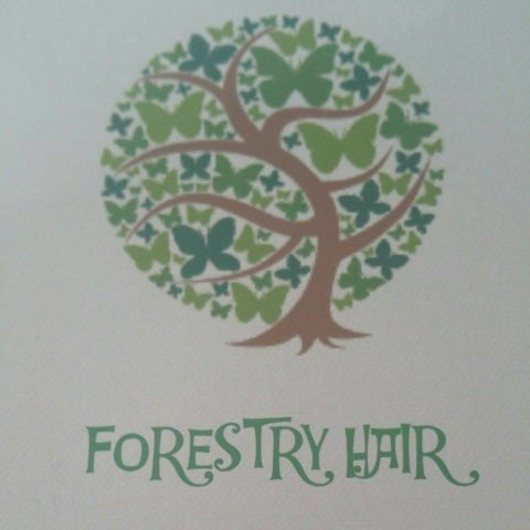 Forestry Hair logo