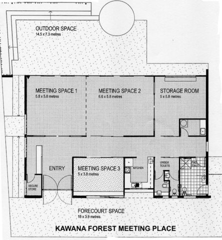 Kawana Forest Meeting Place floor plan