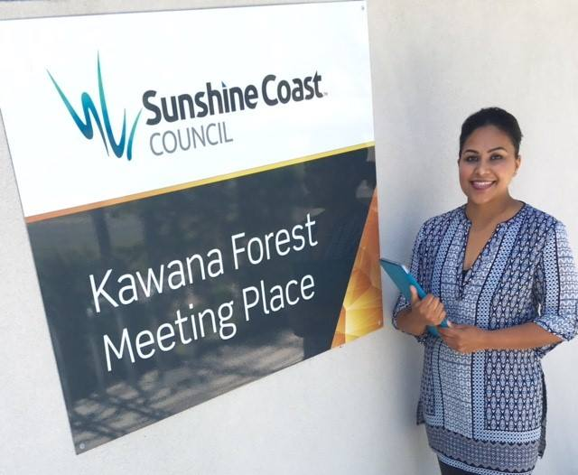 Tahhniaa Dhavai (see photo), Peer Educator from Council of the Aging (COTA)
