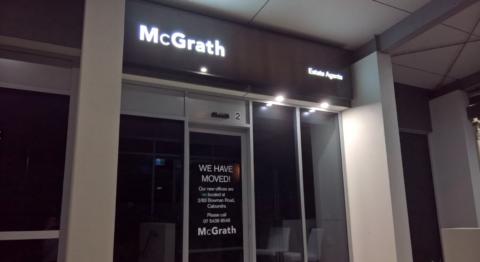 McGrath Estate Agents have moved