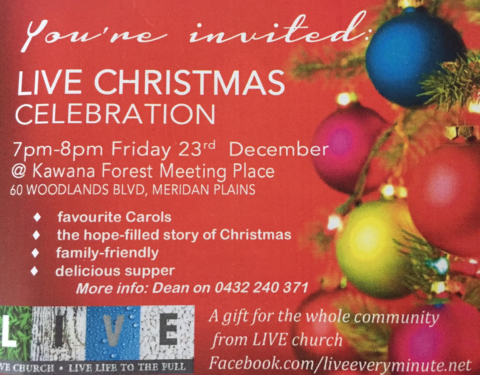 LIVE Church Christmas Celebration 2016