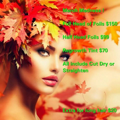 Forestry Hair competition March 2017